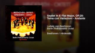 Septet In E Flat Major, OP.20: Tema con Variazioni - Andante