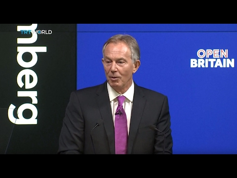 UK's EU Exit: Tony Blair begins 'mission' to stop Brexit