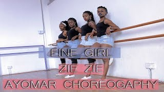 AYOMAR CHOREOGRAPHY   FINE GIRL - ZIE ZIE DANCE   @unikkdance254