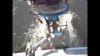 bateau moteur de tondeuse a gazon