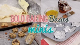 NEW Bold Baking Basics Minis (How to Bake a Perfect Cookie, How to Make a Donut Pan & More!)