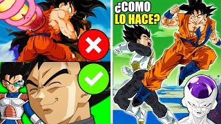 7 Cosas que Vegeta Puede Hacer y Goku NO