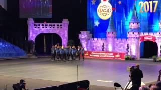 University of Kentucky Dance Team UDA Hip Hop Nationals 2017