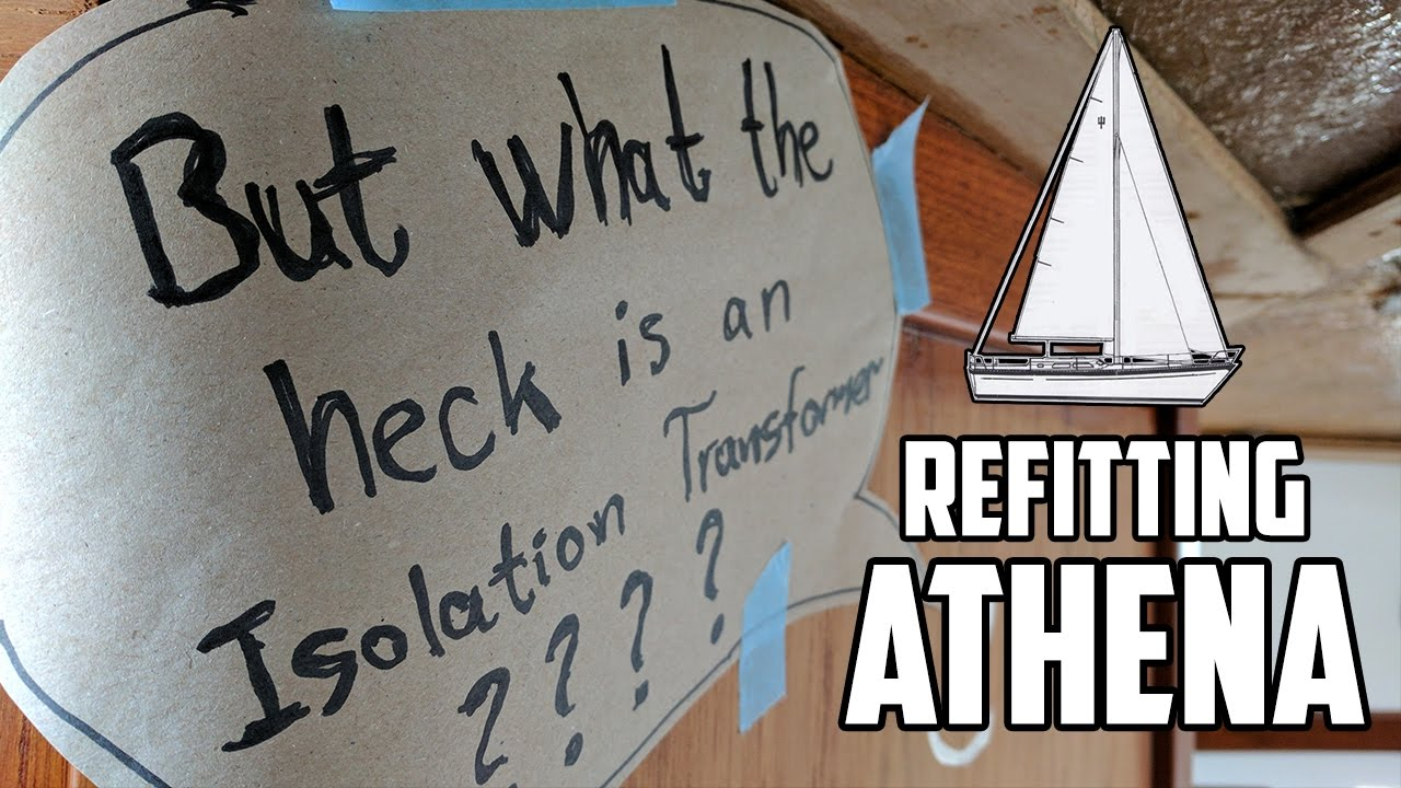 Sail Life - Rewiring the AC & a look at an isolation transformer (Victron Victron Isolation Transformer Wiring Diagram on