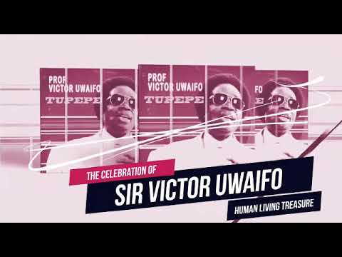 "UNESCO AWARD on Sir Victor Uwaifo as ""The Human Living Treasure"""