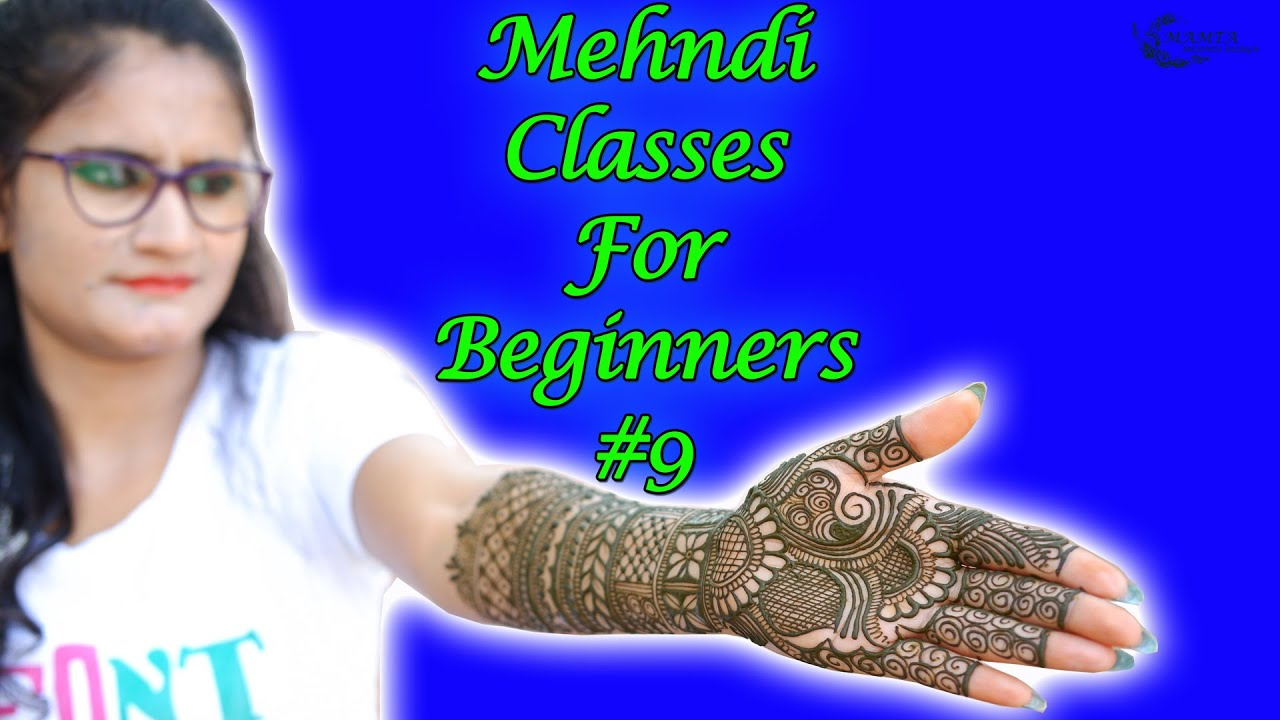 Mehndi Classes for Beginners #9 | Learn How to Make Full Hand Mehndi Designs with Borders