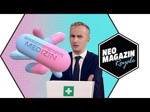 Die Telelupe: Geschlechtsspezifische Medizin | NEO MAGAZIN ROYALE mit Jan Böhmermann - ZDFneo