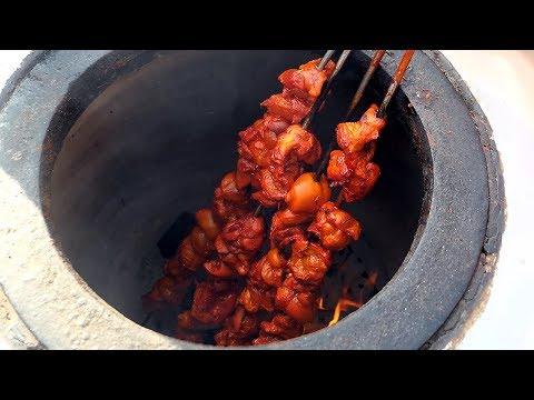 Indian Food Tandoori Chicken – Korean Street Food / Itaewon Global Festival