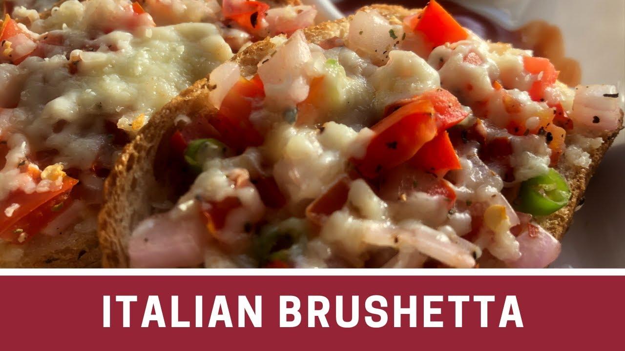 Download Italian Brushetta Bread Easy Appetizer  Garlic Bread
