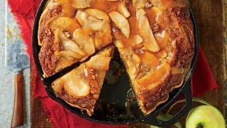 Caramel Apple Blondie Pie  | Cooking Tutorial