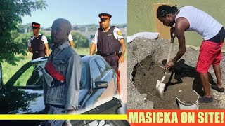 BREAKING | P0LlCE Find Artiste With GVN!! Masicka On WORKsite? Swayze
