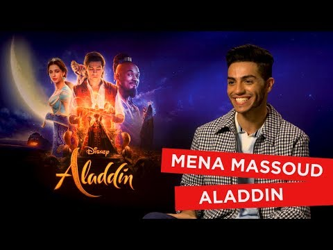 'I've Got No Game!' Mena Massoud Recalls His First Kiss