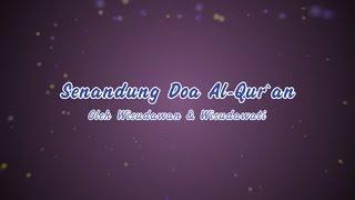 Senandung Doa Al Qur`an