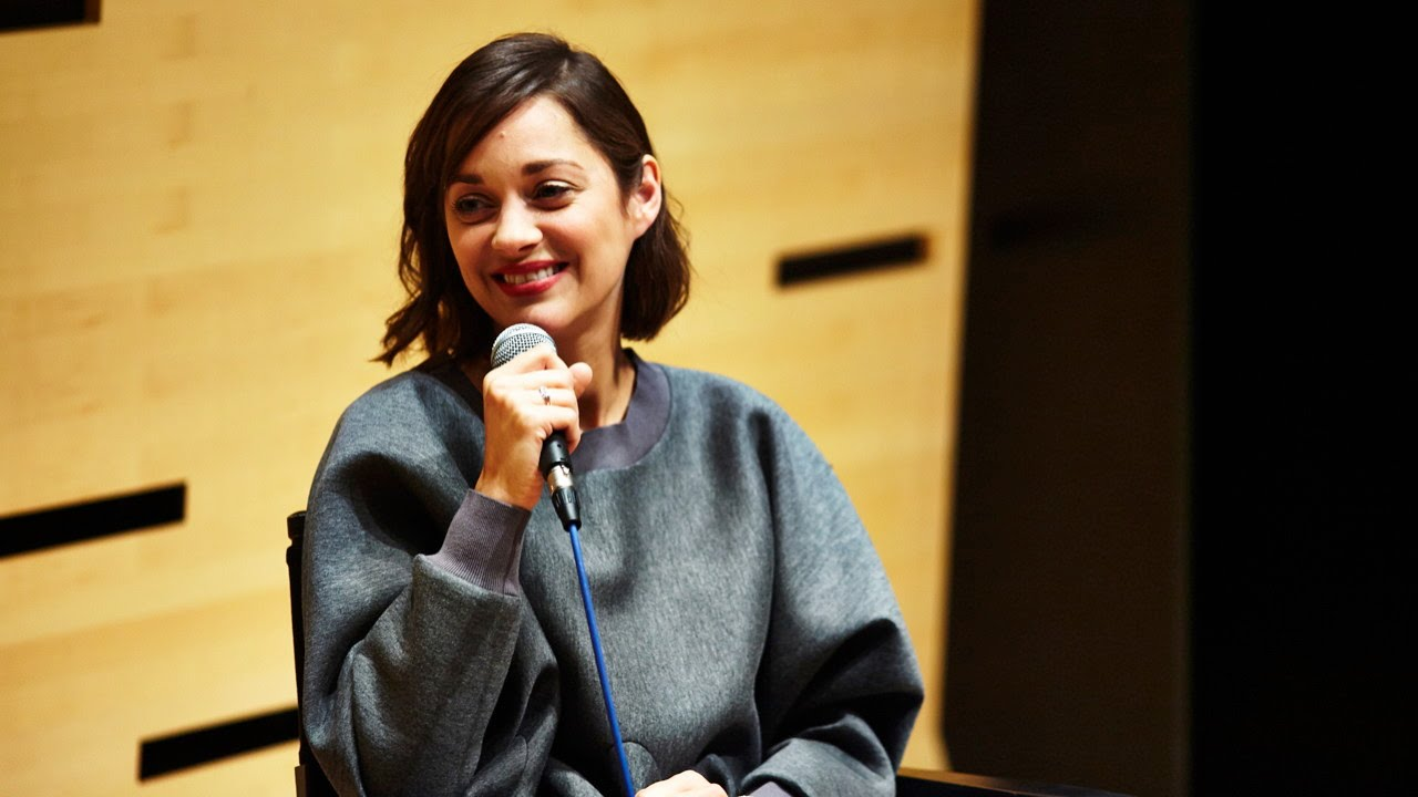 NYFF52 Live: Marion Cotillard | On Watching Herself on Screen