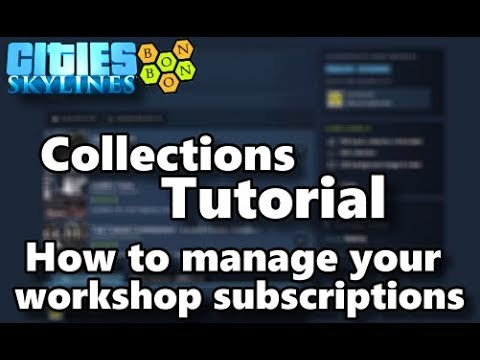 #CitiesSkyines - Collections Tutorial - Content Management thumbnail