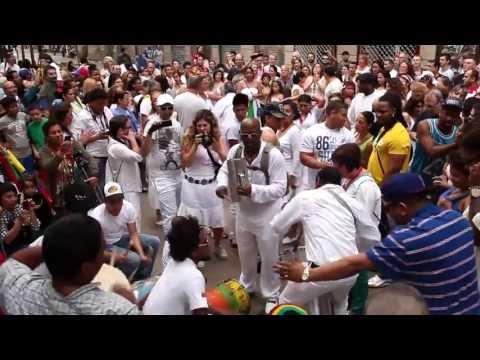 Tambores de San Juan (Venezuela) en Barcelona España - 23 de junio de 2013
