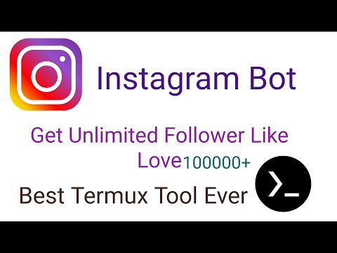 Best Termux Instagram Bot   Unlimited Love Plus Follower