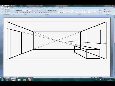 Video perspectiva c nica de una habitaci n youtube - Programa para disenar una habitacion ...