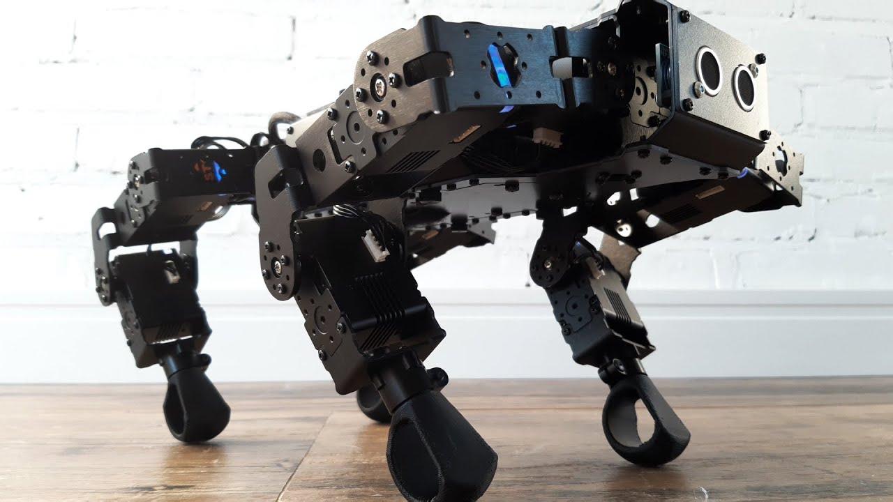 Robot dog (Lynxmotion SES V2 mechDOG BETA)