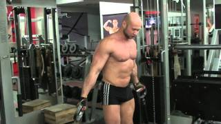 Как накачать грудь - № 319. Кроссовер для верхней части грудных мышц thumbnail