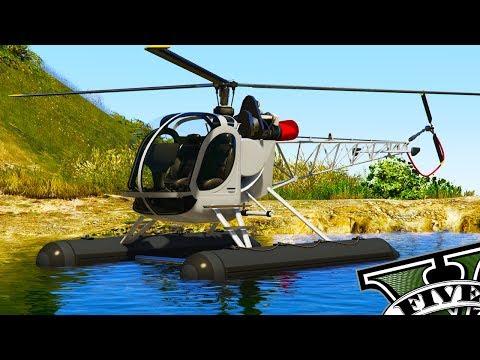GTA V Online - Novo Helicóptero que Pousa na Água