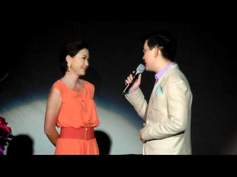 Jodi Sta. Maria and Richard Yap singing the theme song of Be Careful with My Heart