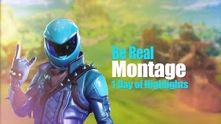 Be Real - Kid Ink - Fortnite Montage @BeamzyBruzz