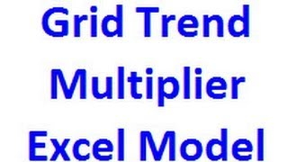 The Excel Model For the GTM Forex Trading Technique helps with grid sizing and risk