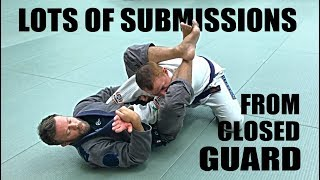Jiu-Jitsu Submissions | Lots of Closed Guard Submissions