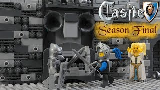 Lego Castle Lion Knight's Attack Season Final Stop Motion Animation