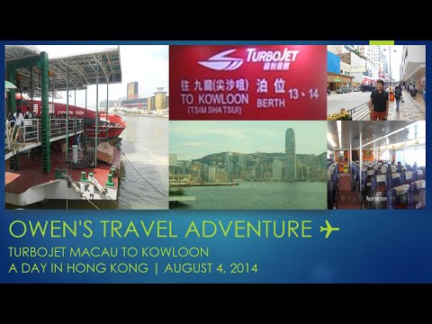 TurboJet Macau to Kowloon |  A day in Hong Kong