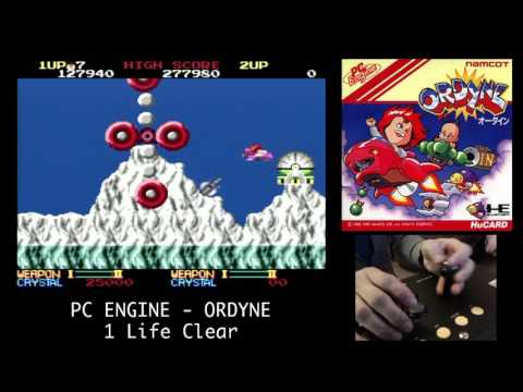 PC Engine - ORDYNE - 1 Life Clear  PCエンジン オーダイン  -