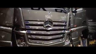 Mercedes Actros 4163 LS 8X4 Euro VI - Bauma-2016