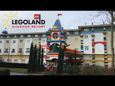Legoland Hotel Windsor Vlog | Pirate & Lego friends room tour