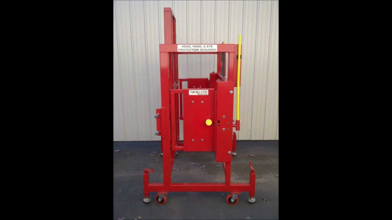 The Forcible Entry Simulator Youtube