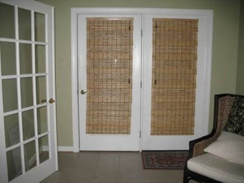 Shades For French Doors Ideas YouTube