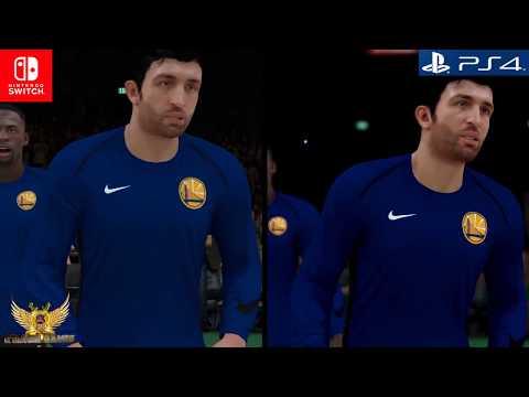NBA 2K18. PS4 VS SWITCH - COMPARACIÓN GRÁFICA