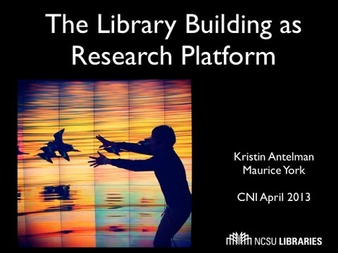 CNI: The Library Building as Research Platform