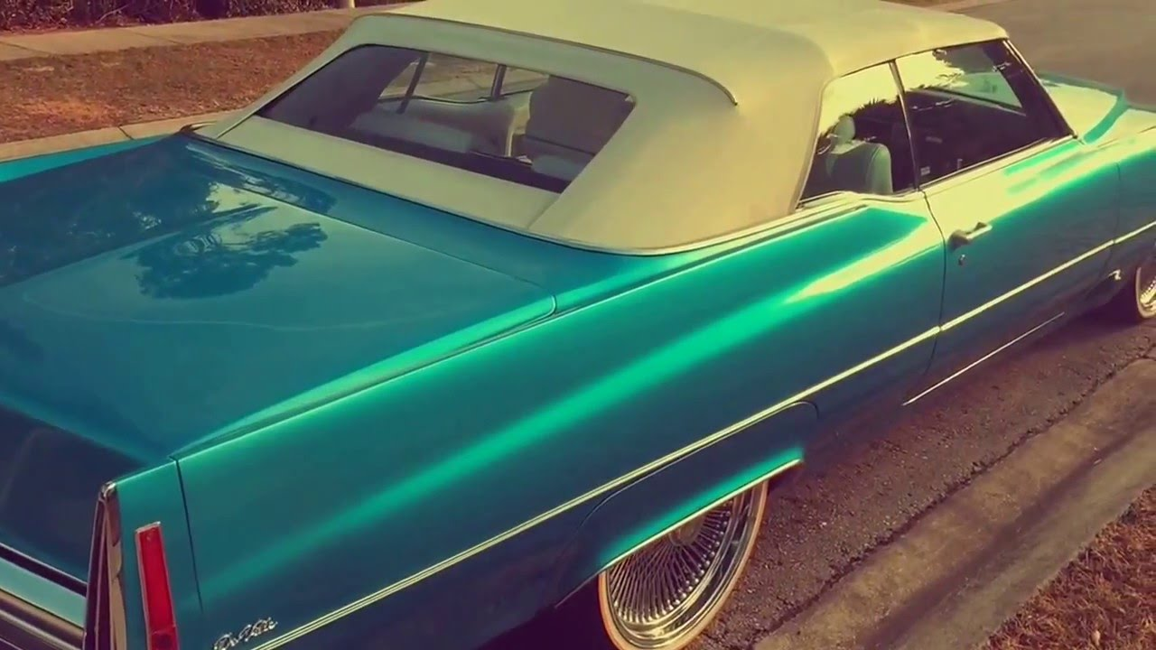 1970 Deville convertible on 22 Dayton\'s & Vogues - YouTube