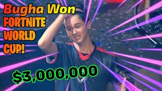 16 Yrs alter Kerl gewann 21 crore Rs. in Fortnite World Cup || Ft. #Bugha - Der Weltmeister