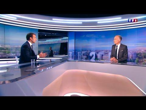 Emmanuel Macron répond aux questions de Gilles Bouleau |TF1