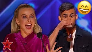 Contestant SURPRISES The Judges With BEER MAGIC on America's Got Talent 2019! | Got Talent Global thumbnail