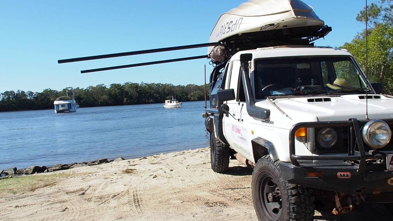 Boat Loader Amp Rooftop Tent Youtube