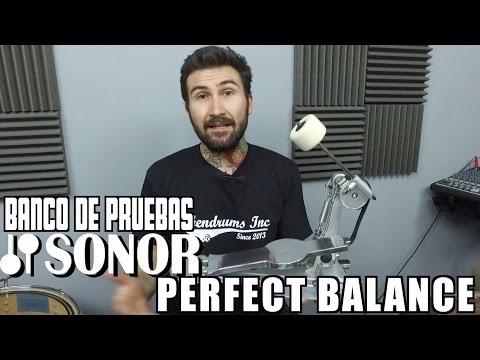 Sonor Perfect Balance by Jojo Mayer - Banco de Pruebas