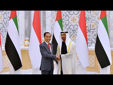 Rangkaian Upacara Penyambutan Resmi Presiden RI di Persatuan Emirat Arab, Abu Dhabi, 12 Januari 2020