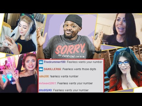 WHEN TRYING TO GET GIRLS NUMBERS ON TWITCH GOES WRONG! - Stream Raiders Ep.12