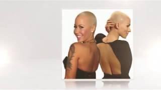 Bald and Buzz Cut Fashion Beauties Part 1