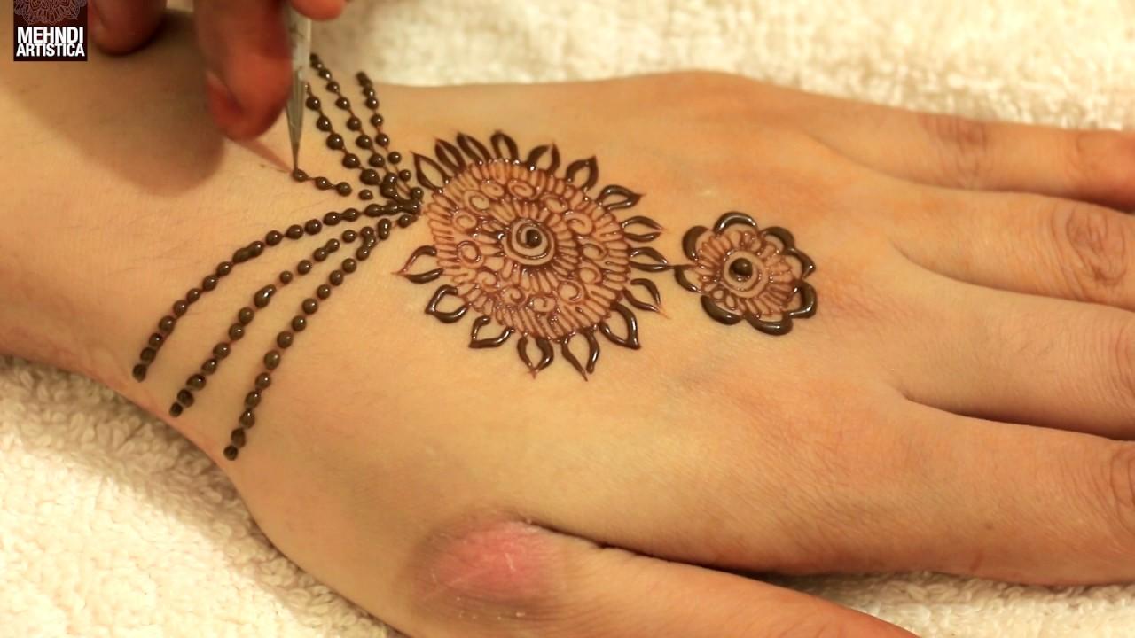 Mehndi Hand Patterns Diwali : Beautiful haathphool jewellery mehandi design hand mints