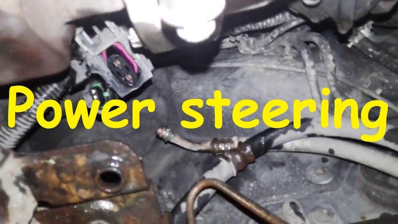 Opel Zafira B power steering Electric Power steering pump