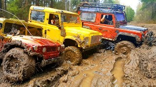 RC Cars MUD OFF Road - Land Rover Defender 90 and Hummer H1 #1- RC Extreme Pictures